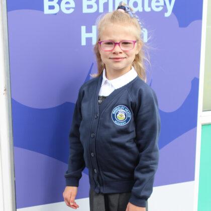 Brindley Heath Academy Navy Blue Cardigan