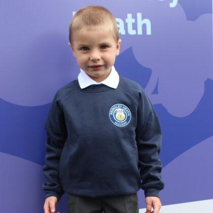 Brindley Heath Academy Navy Blue Sweatshirt