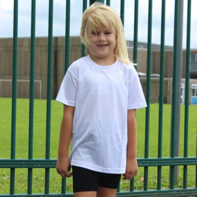 Brindley Heath Academy White P.E T-shirt